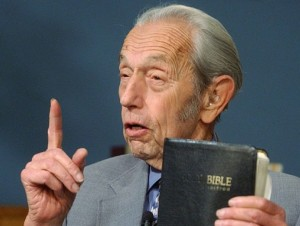 Harold Camping's words to live by.