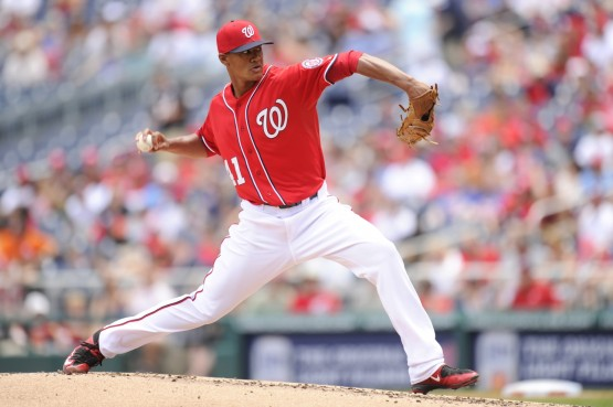 Joe Ross is making his Triple-A Debut for the Syracuse Chiefs on Thursday night (Mitchell Layton/Getty Images)
