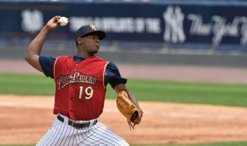 Luis Severino was ranked the Yankees top prospect at the end of the 2014 season.