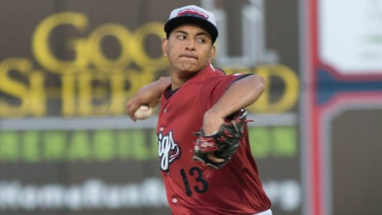 Severino Gonzalez made his major league debut this season at 22-years old (Photo credit: Cheryl Pursell)