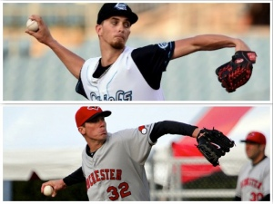 A.J. Cole and Alex Meyer each posted six scoreless innings in game one of the April 21st doubleheader