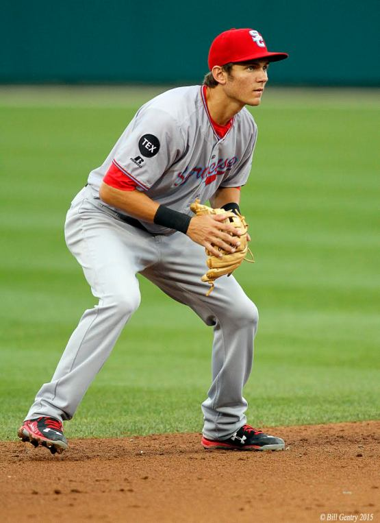 In under two months, Trea Turner picked up 17 multi-hit games with the Chiefs. (Bill Gentry | Indianapolis Indians)