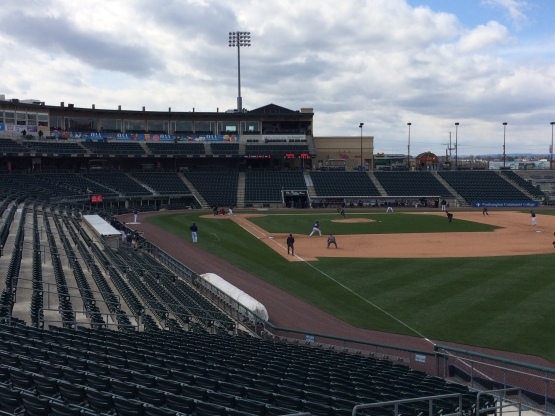 Coca-Cola Park was empty for the Chiefs opener (Eric Gallanty)